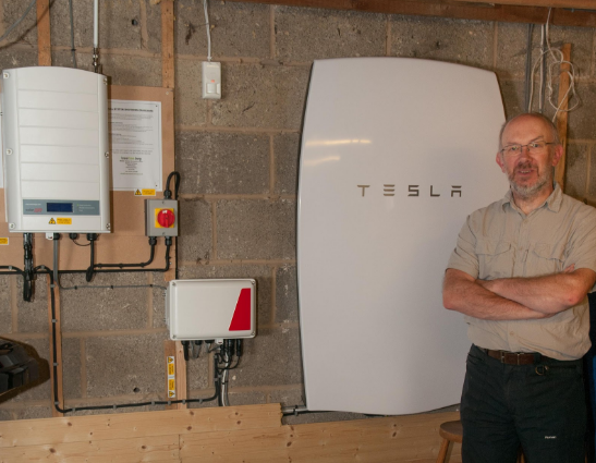 Tesla-Powerwall-installation