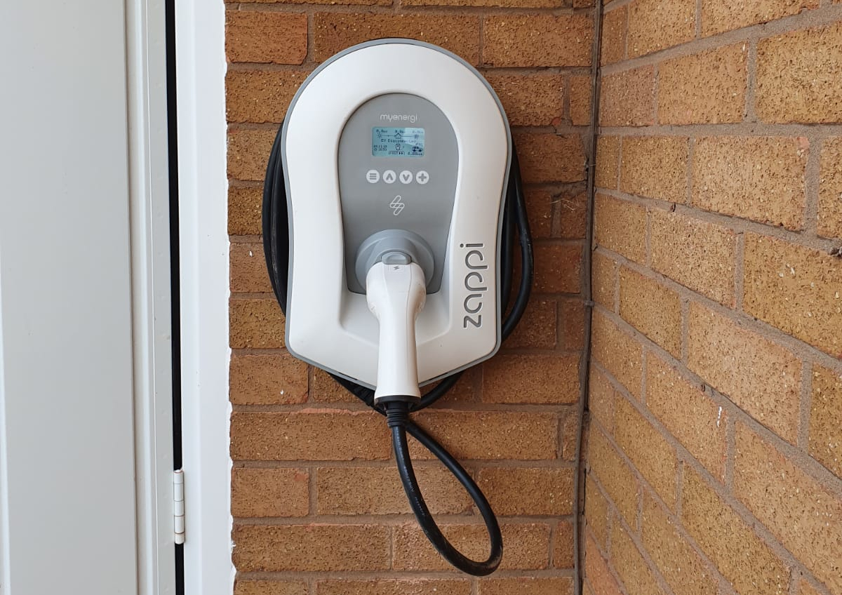 ev charger to charge tax exempt cars