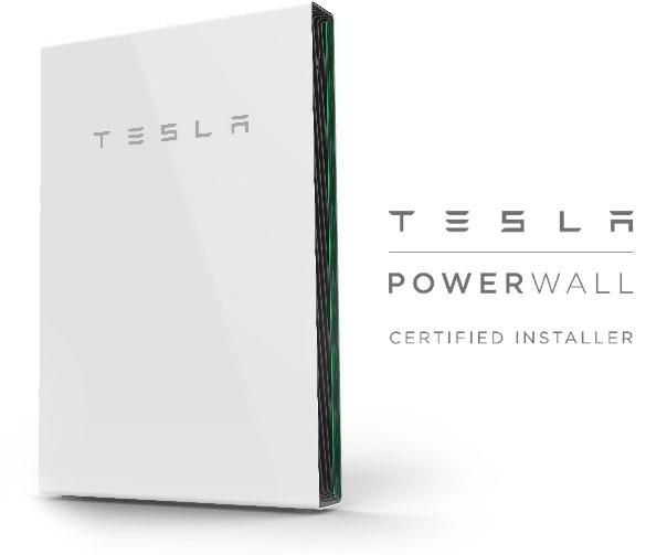 TESLA Powerwall 2 Certified Installer - solar battery storage
