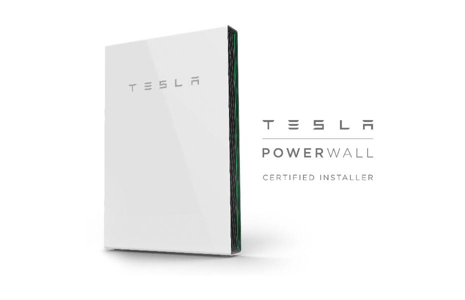 Photo of the Tesla Powerwall