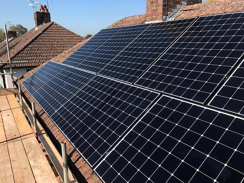 free solar panels in the sun