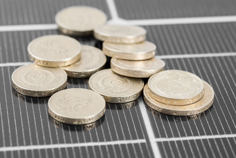 solar panal funding incentives